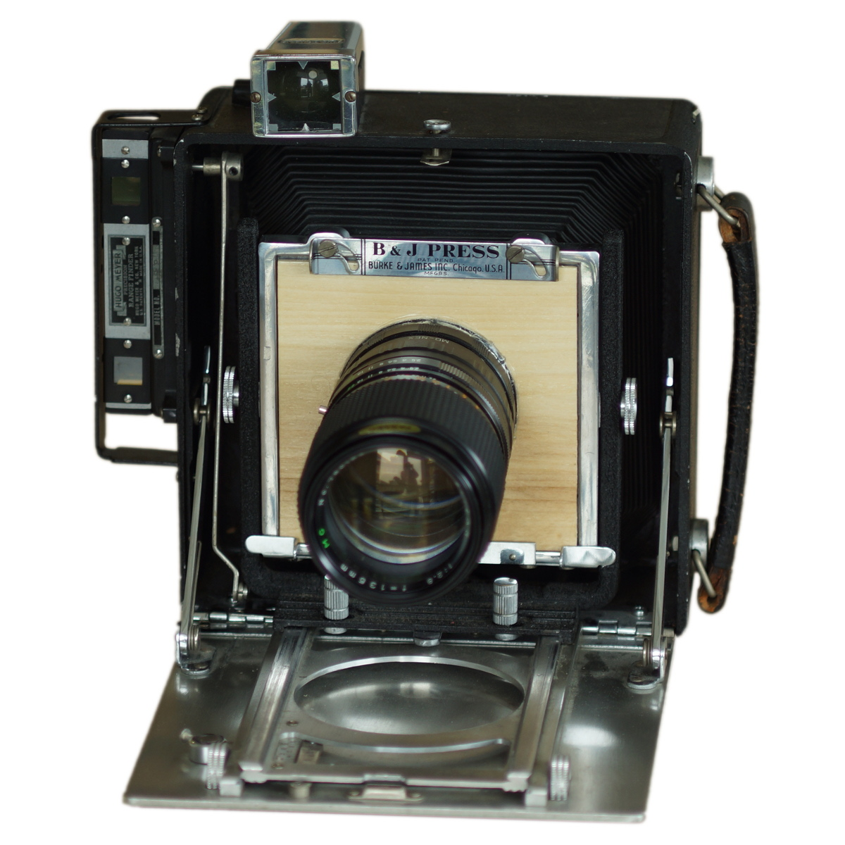 Custom Lensboards For A Large-Format Camera