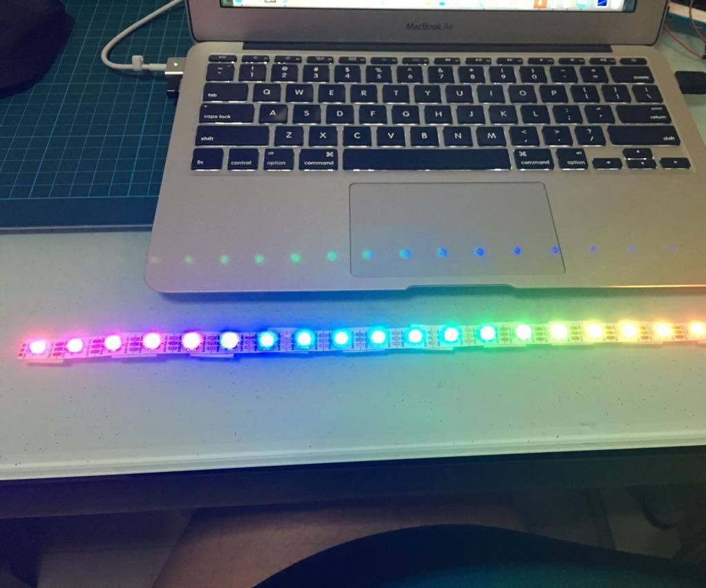 Easy NeoPixel Programming with Espert library