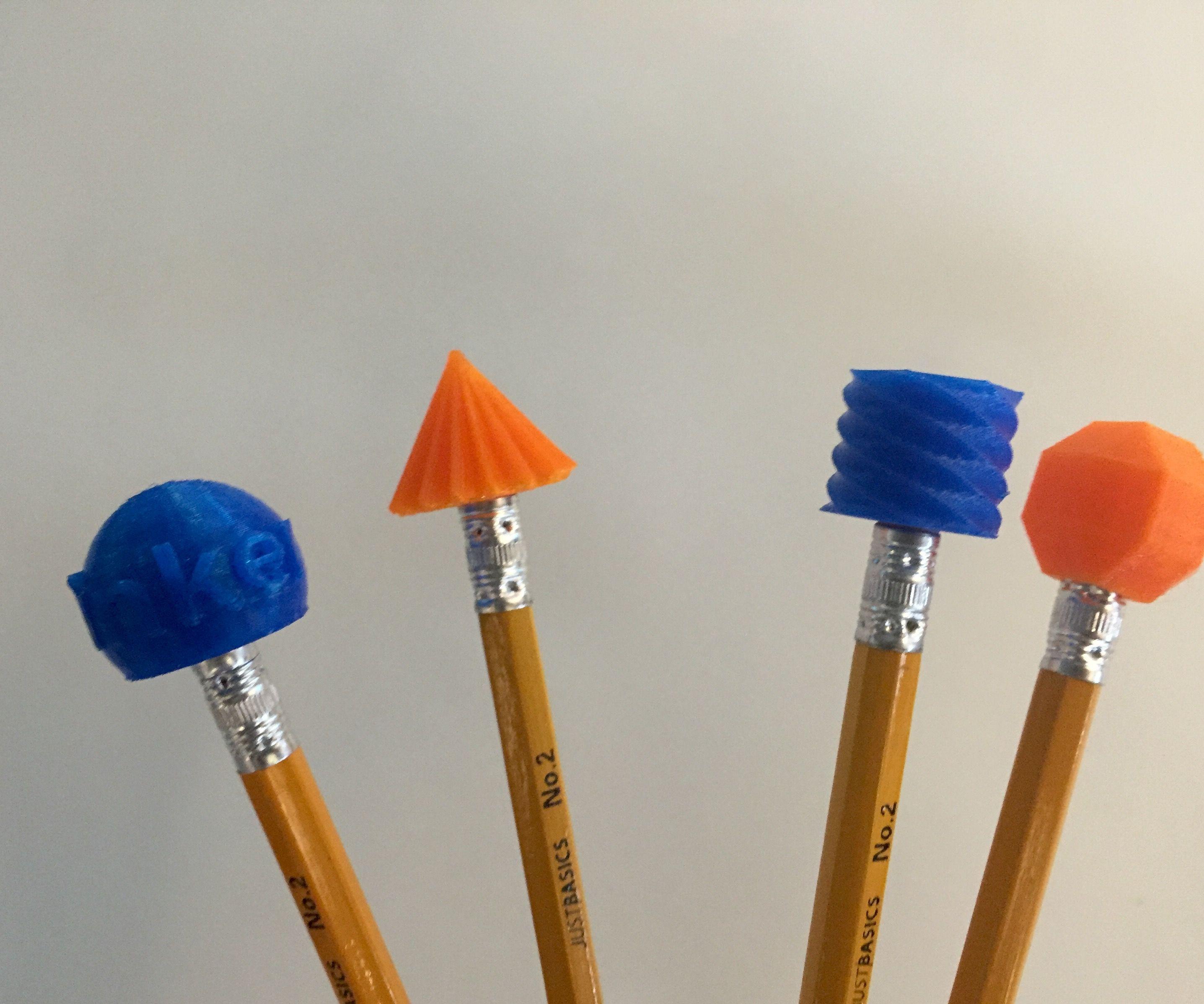 Design and 3D Print a Pencil Topper