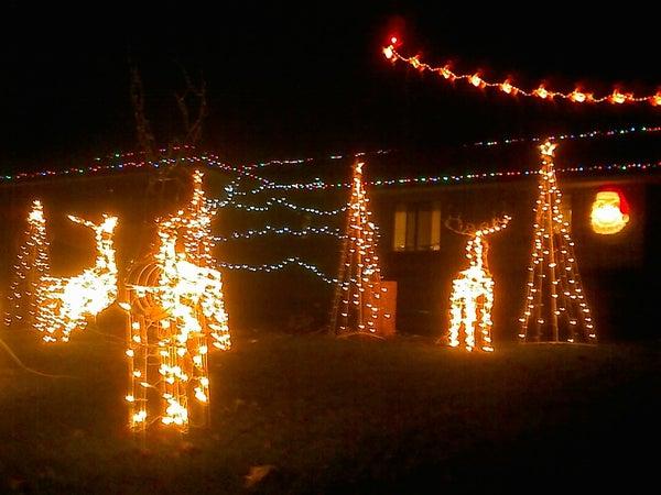 Computerized Christmas Light Display