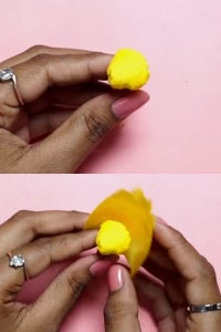 Let's Make a Bud & Stick Petals to Give It a Floral Look!