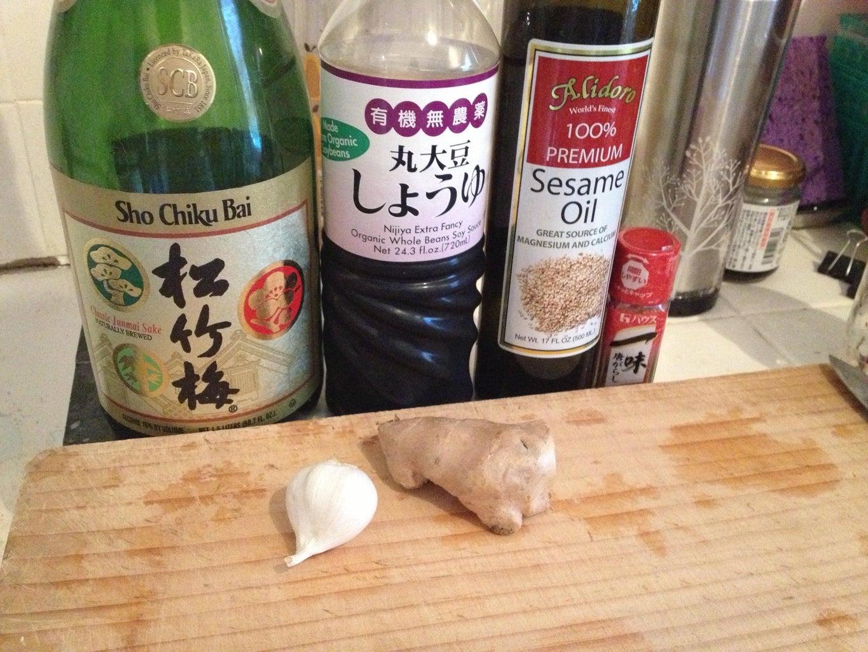 Ingredients - Preparing the Day Before