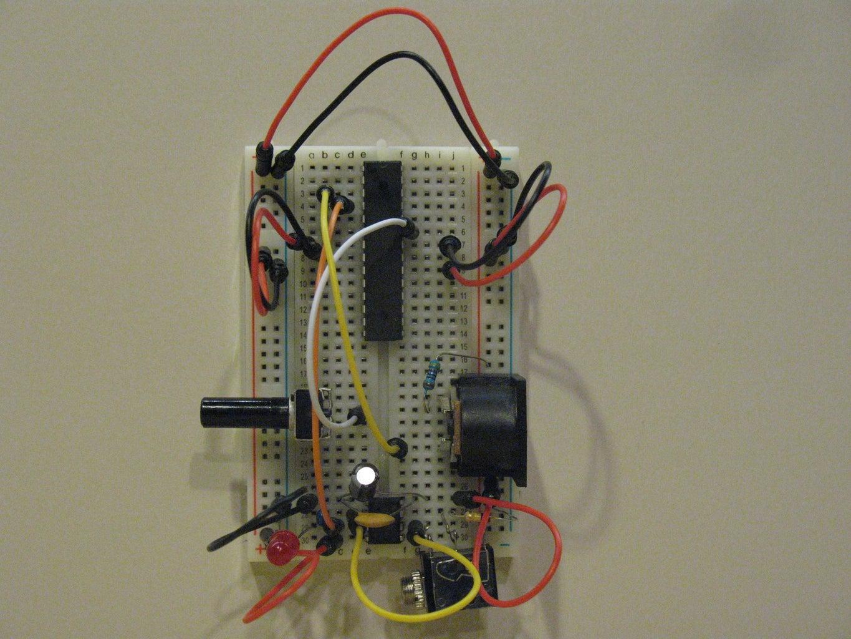 MIDI Power Resistor to V+