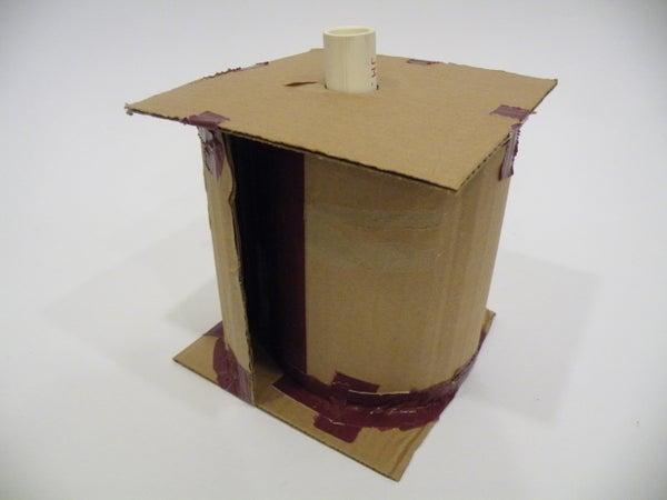 Cardboard Conch Horn