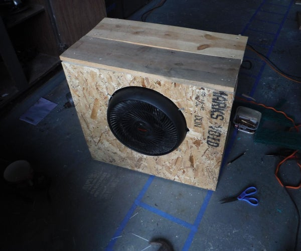 Mega Swampy: a Large, Economical Swamp Cooler Powerful Enough to Cool Multiple Rooms!