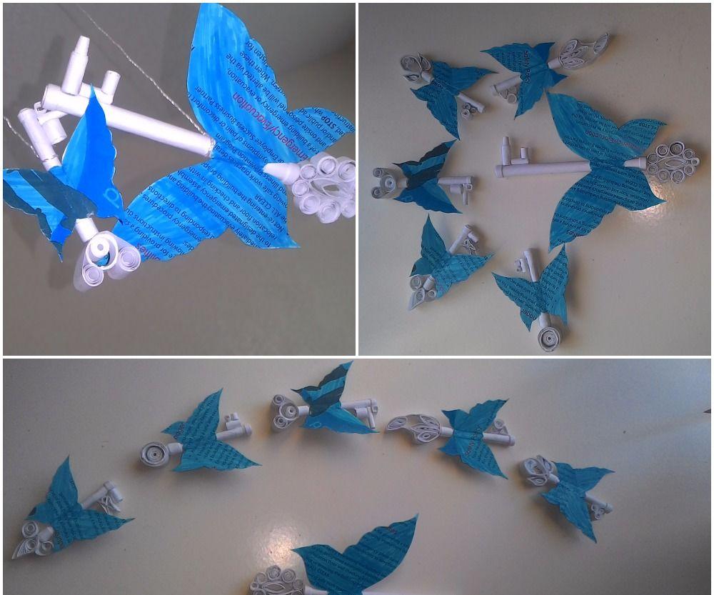 Winged Keys Using Paper