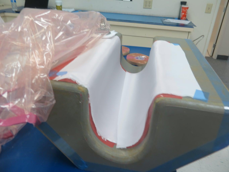 Leading Edge Layup - Remove Vacuum Bag