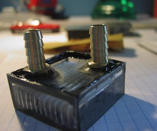 Make a Water Block Out of a Heatsink for Less Than $20!