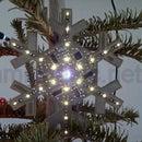 e-snowflake -- winter decor based on atmega8 microcontroller