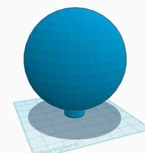 Creating a 3D Drawing for the Globe…