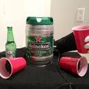Beer Pong Alarm Clock