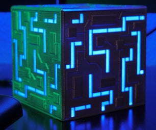 Alien Cube   3D Printed
