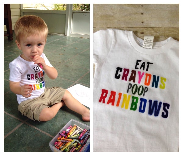 Crayons to Dye For