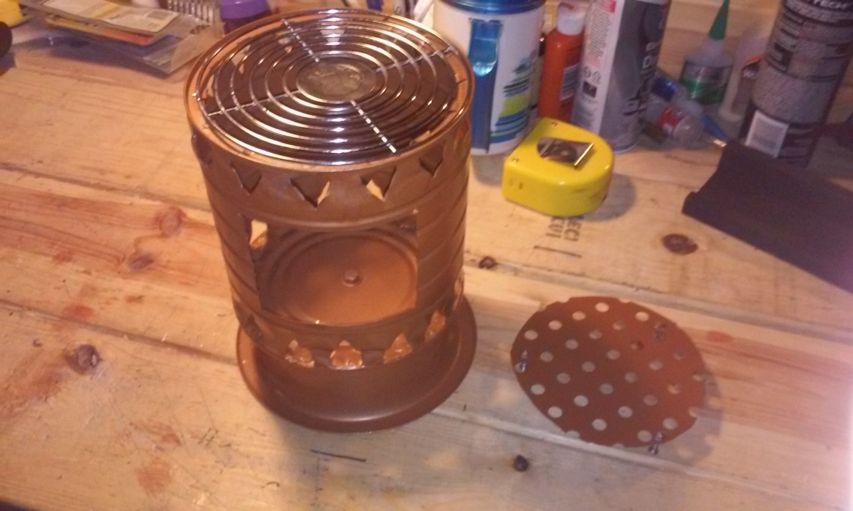 Step 10: the Grate or Grill