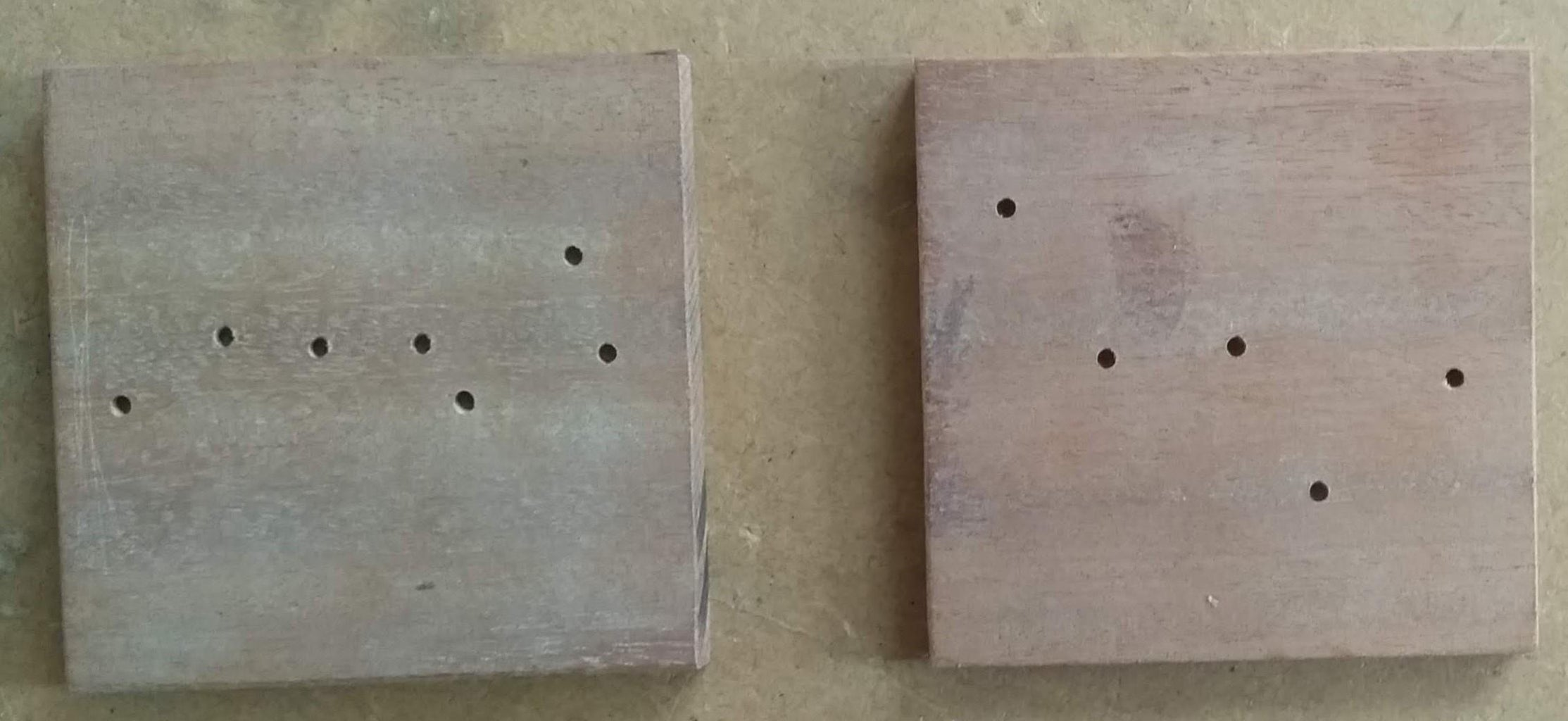 Drilling Star Holes