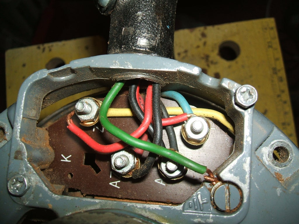Wiring Up a Brooke Crompton Single-phase Lathe Motor (Myford Lathe) : 5  Steps - Instructables   Gryphon Wiring Diagram      Instructables