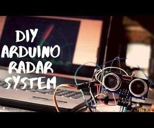 How to #Make a #Radar Using #Arduino and #Ultrasonic #Sensor Easily at #Home