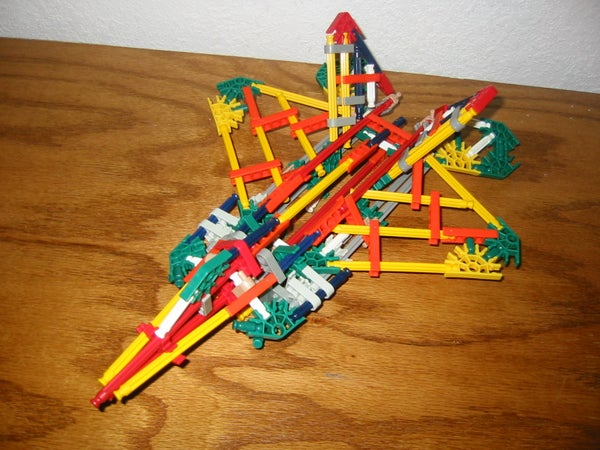 Knex F-22 Fighter Jet