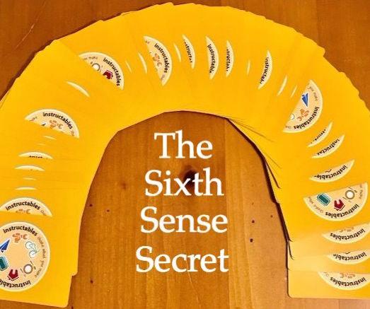 The Sixth Sense Secret: a Befuddling Card Trick