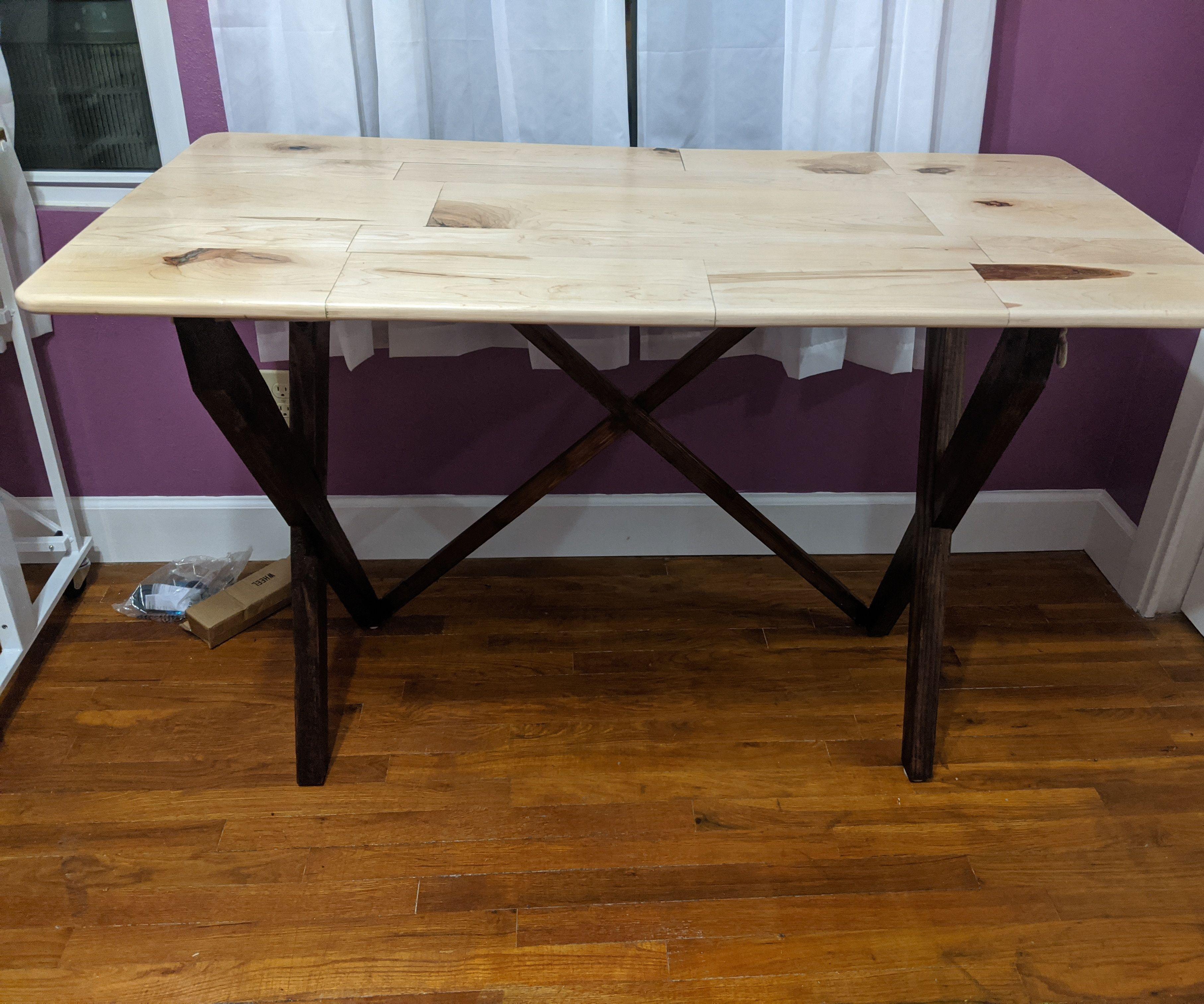 Folding Craft Table