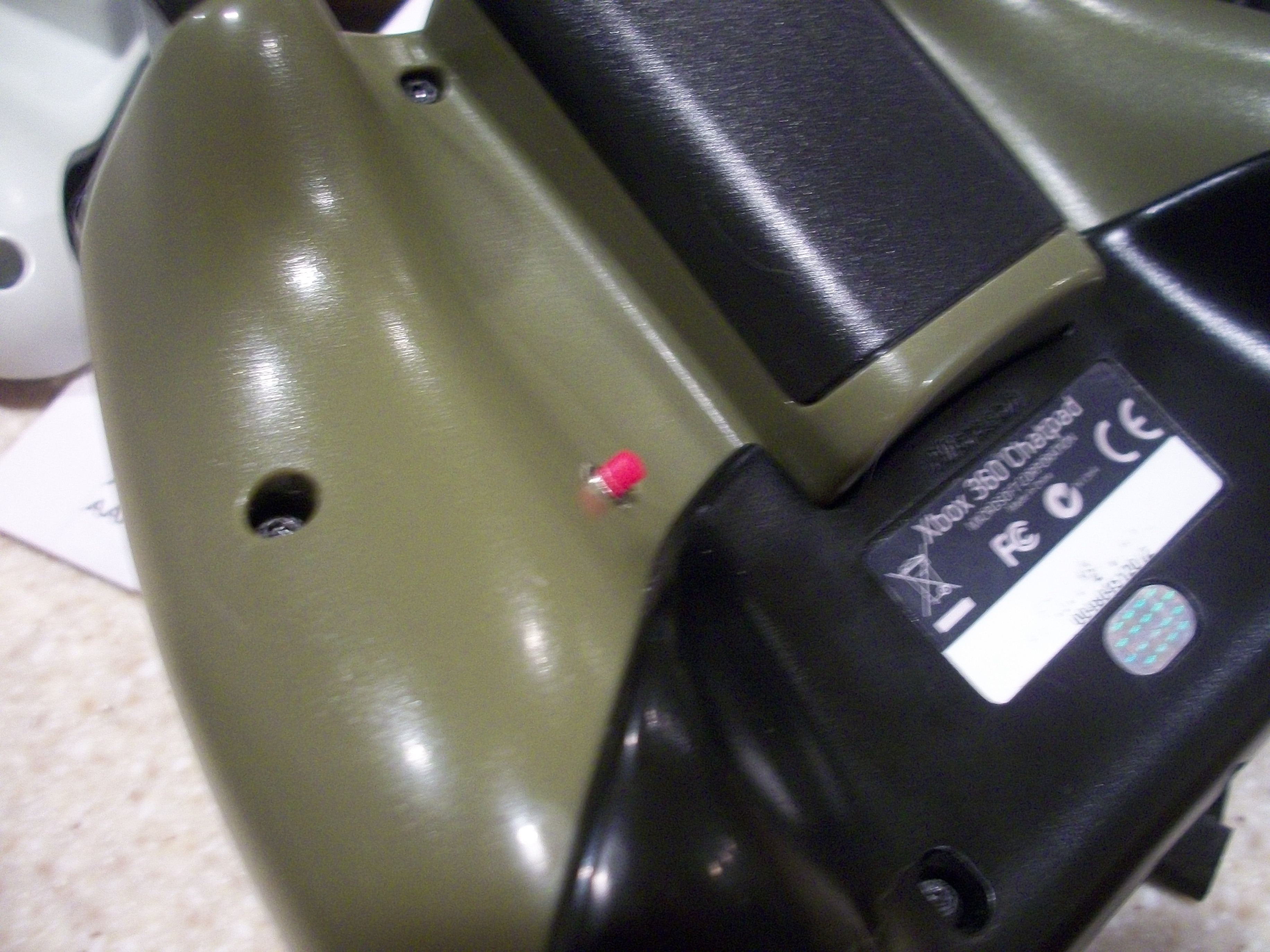 Move buttons on your xbox controller