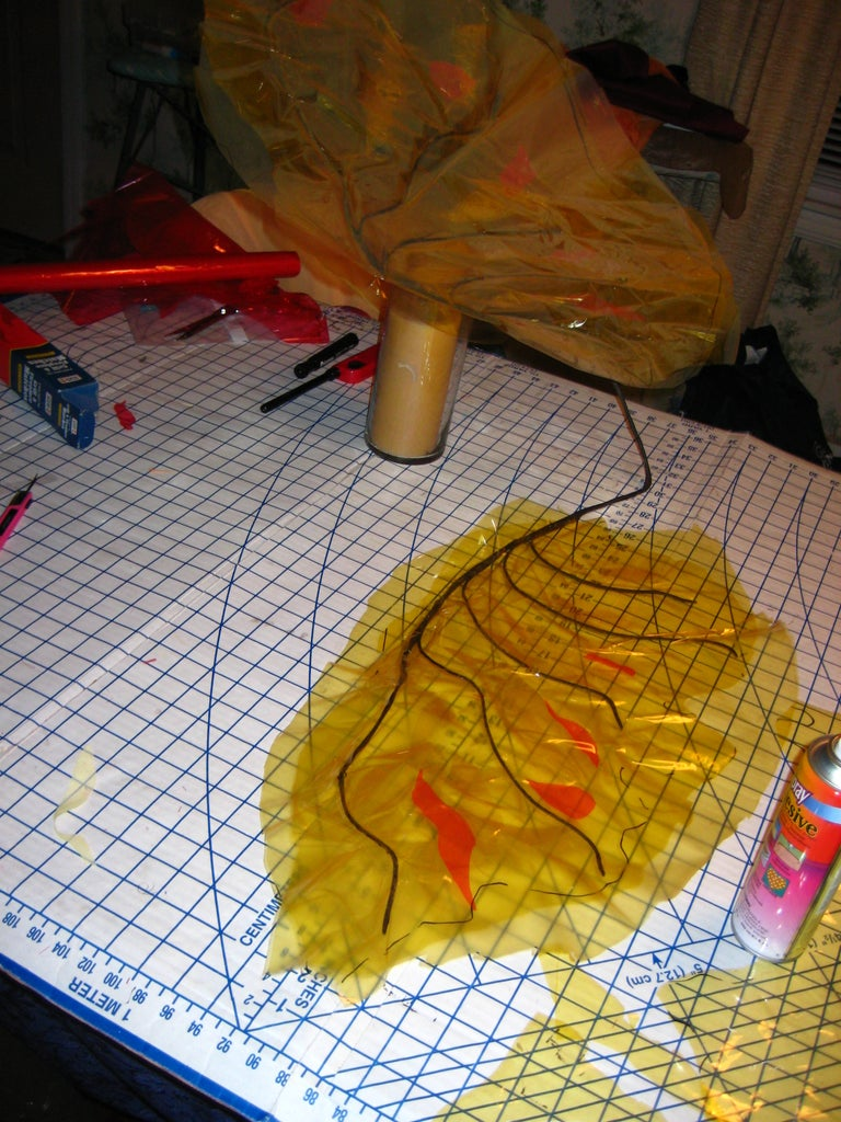 Gluing on Your Cellophane