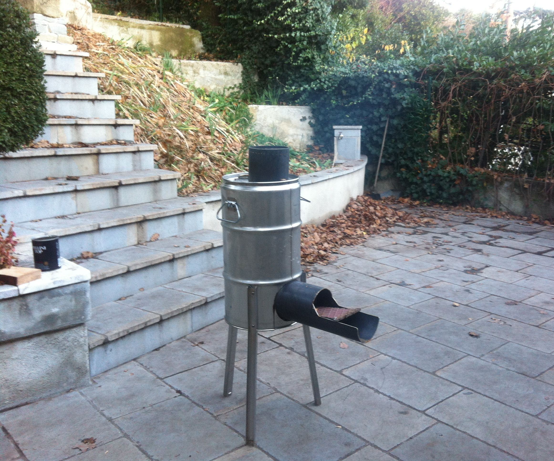 Rocket stove and BBQ