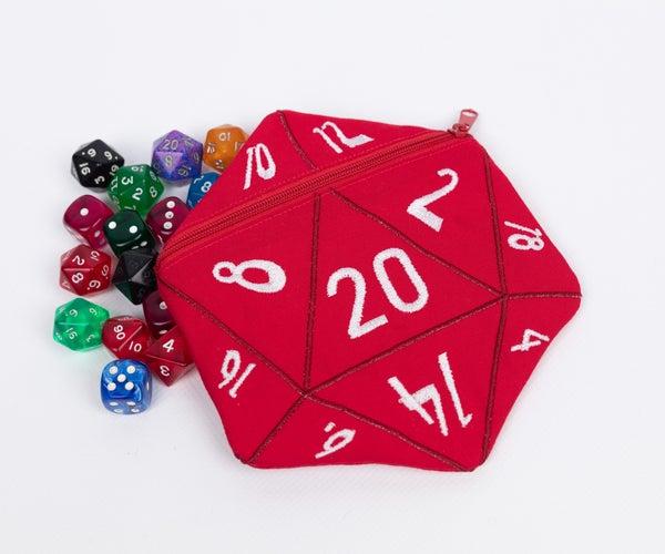 D20开头骰子袋
