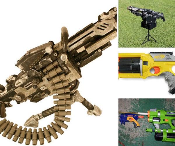 N.E.R.F. GUN MODS