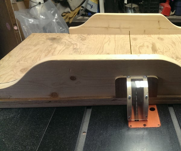 Table Saw Sled..