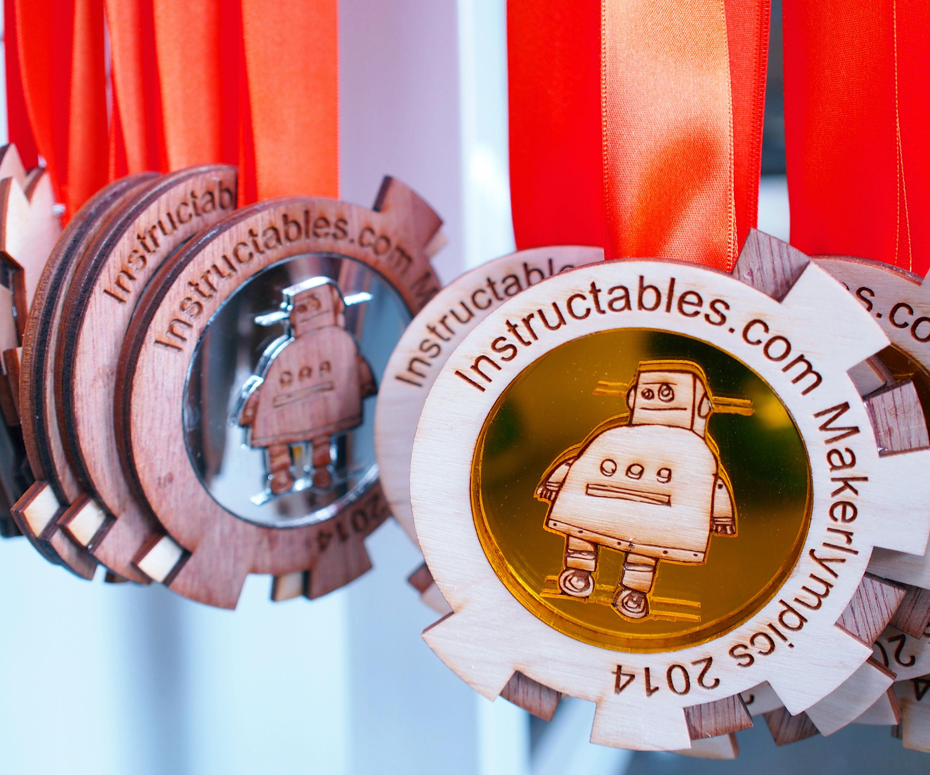 Maker Olympics Medals