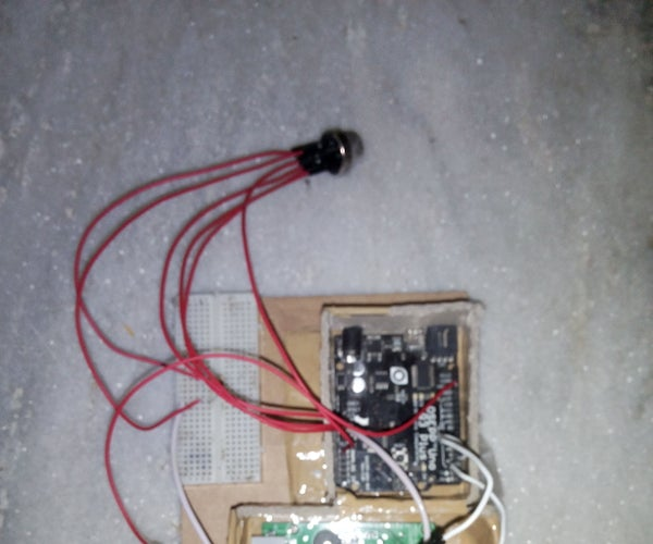 Sending Sms If Smoke Is Detected (Arduino+GSM SIM900A