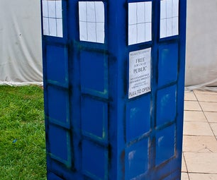 Doctor Who - Simple Fridge Box Tardis