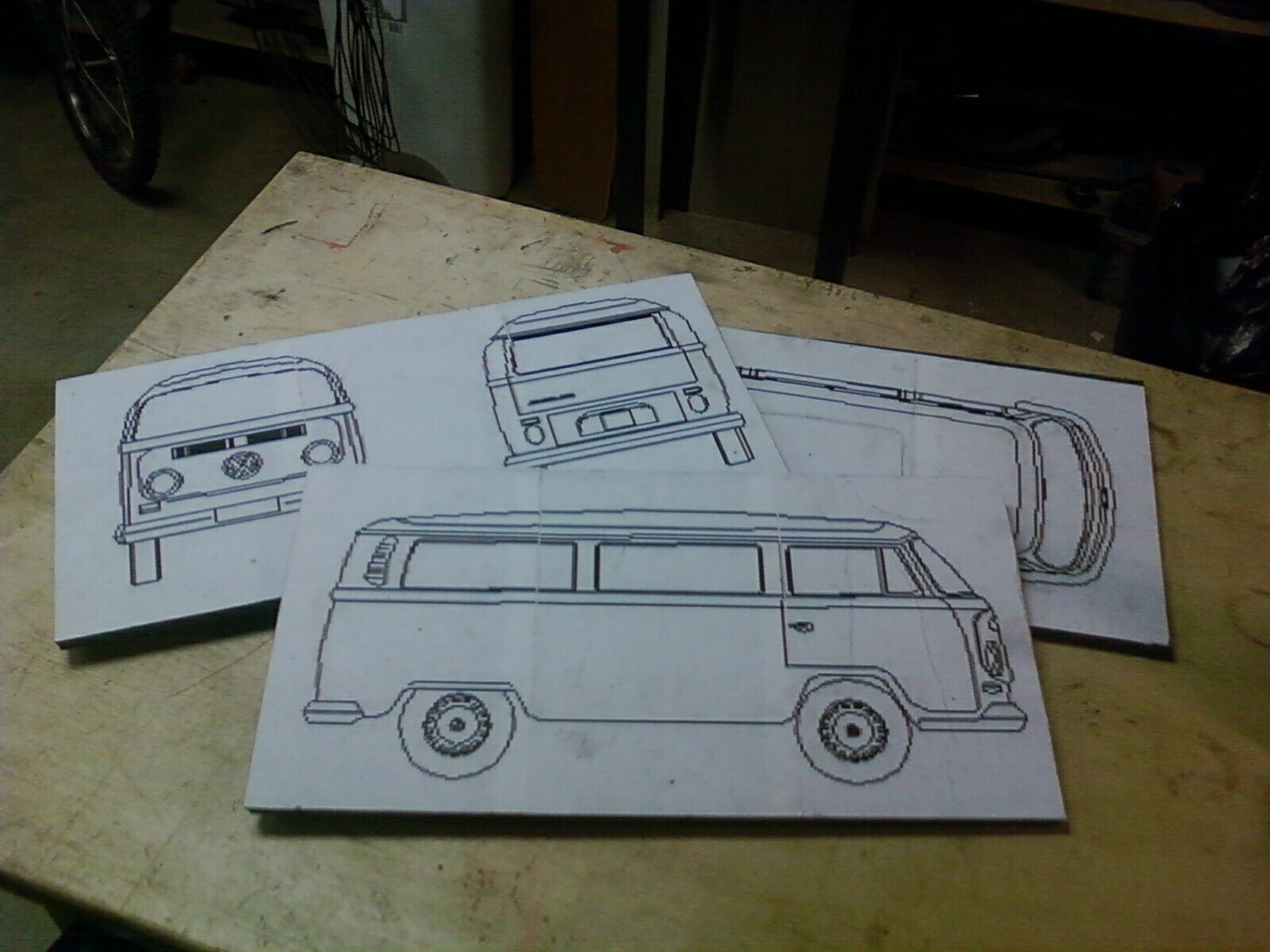 Drawing Your Car (or Printing a Plan)