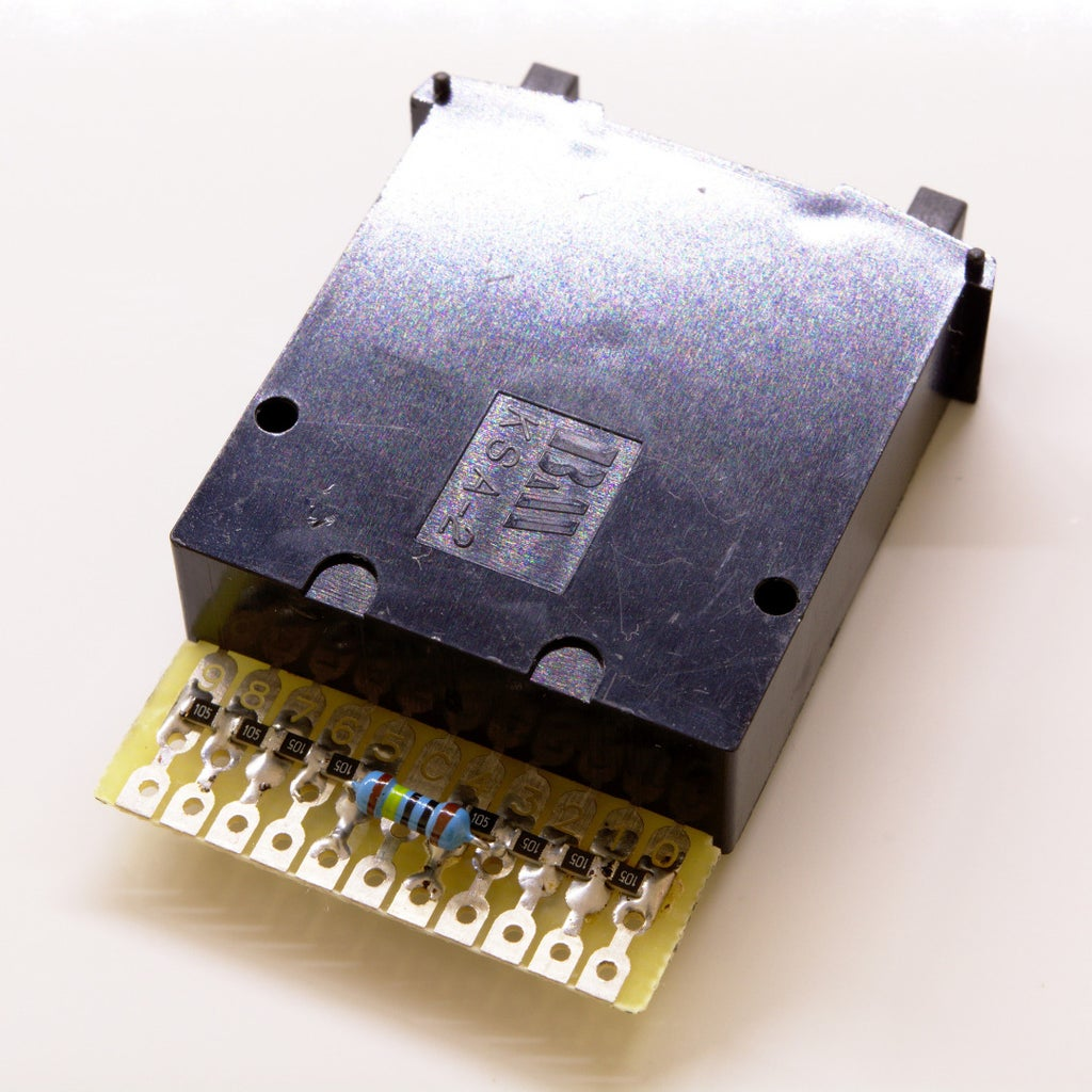 Soldering the Resistors