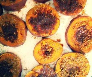 Curry Candied Sweet Potatos