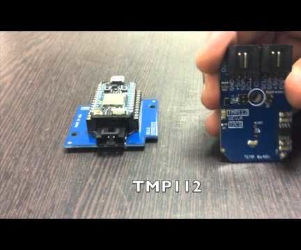 Temperature Measurement Using TMP112 and Particle photon