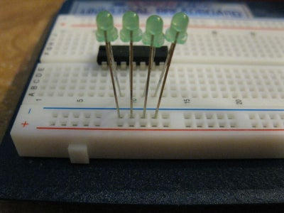 Wiring Up the Chip Part 1: Data Pins 1-4