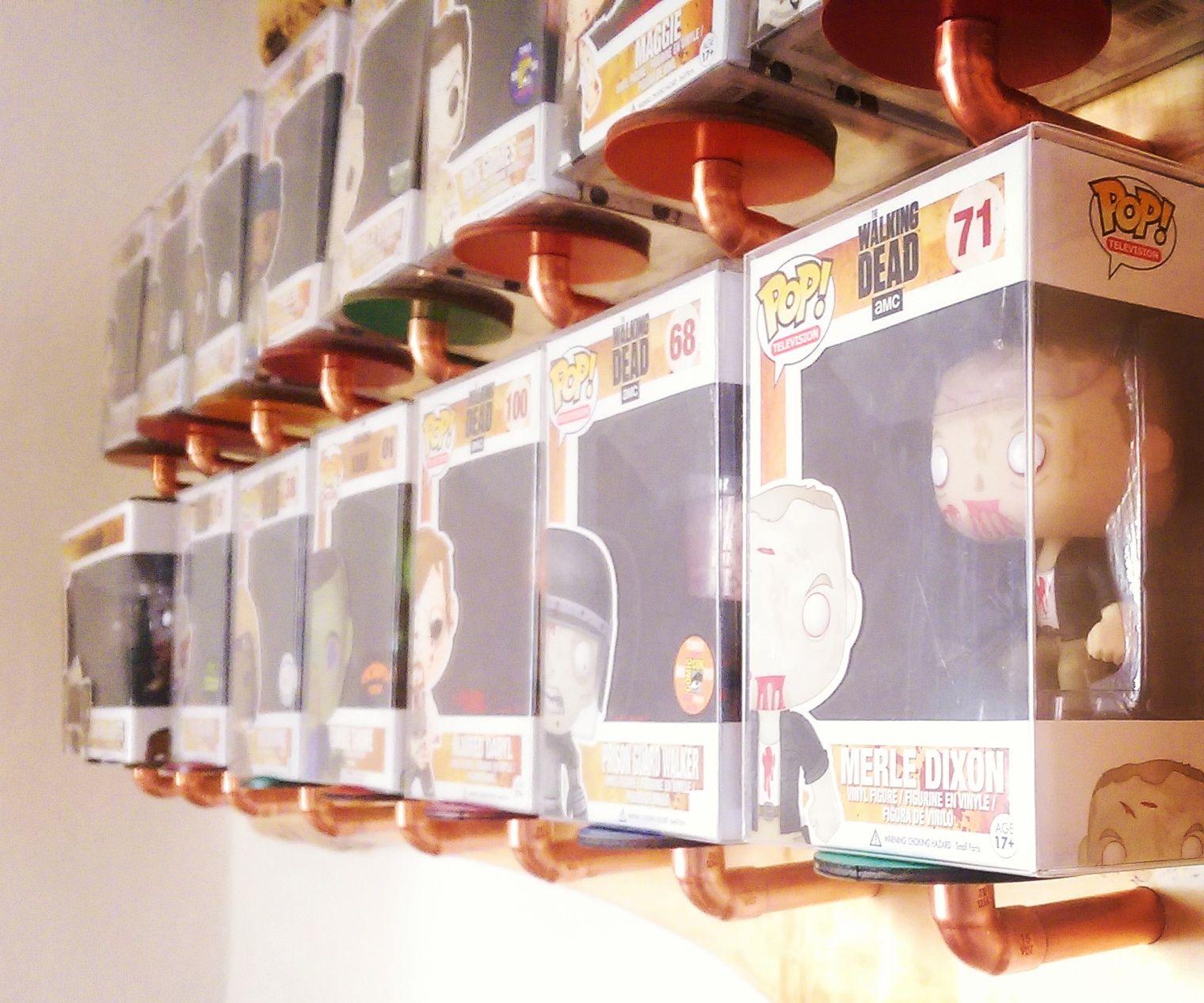 Funko Pop Vinyl Wall Display