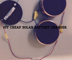 Cheap Solar Battery Charger