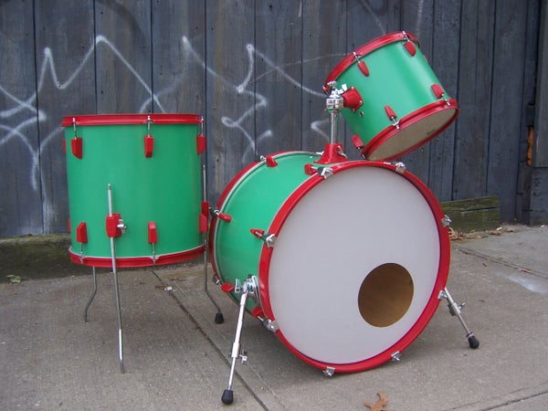 Paint Your Drum Kit With Rustoleum Brand Spray Paint