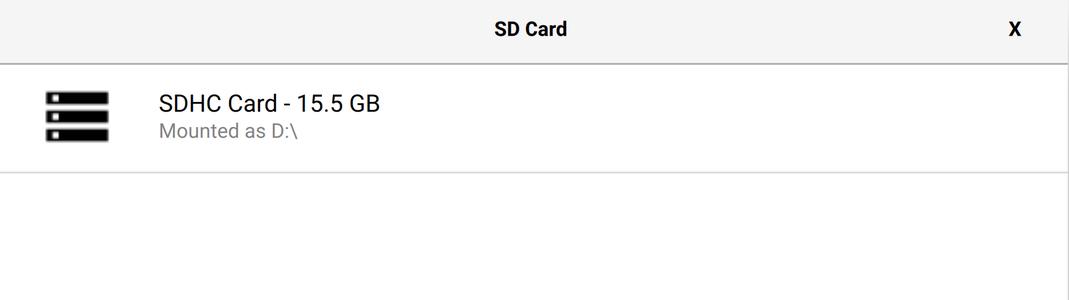 Prepare the MicroSD Card: