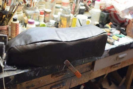 Install the Leather Cover