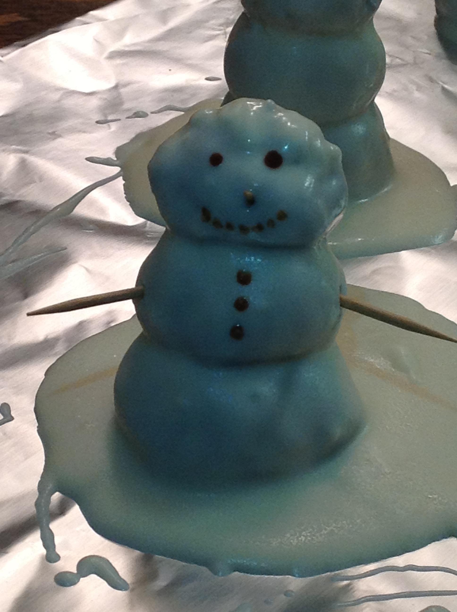 Snowmen Oreo Balls