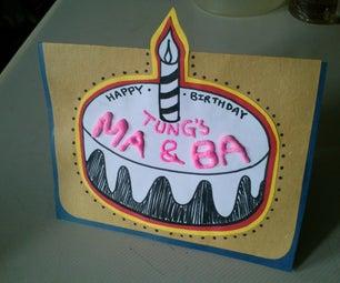 Bake a Birthday Card~!