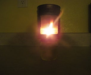 Easy and Cheap Oil Lantern