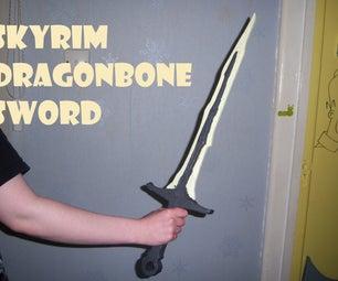 Skyrim Dragonbone Sword