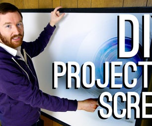 How to Build a DIY Projector Screen