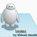 How to Design BayMax(Big Hero 6) on Tinkercad!