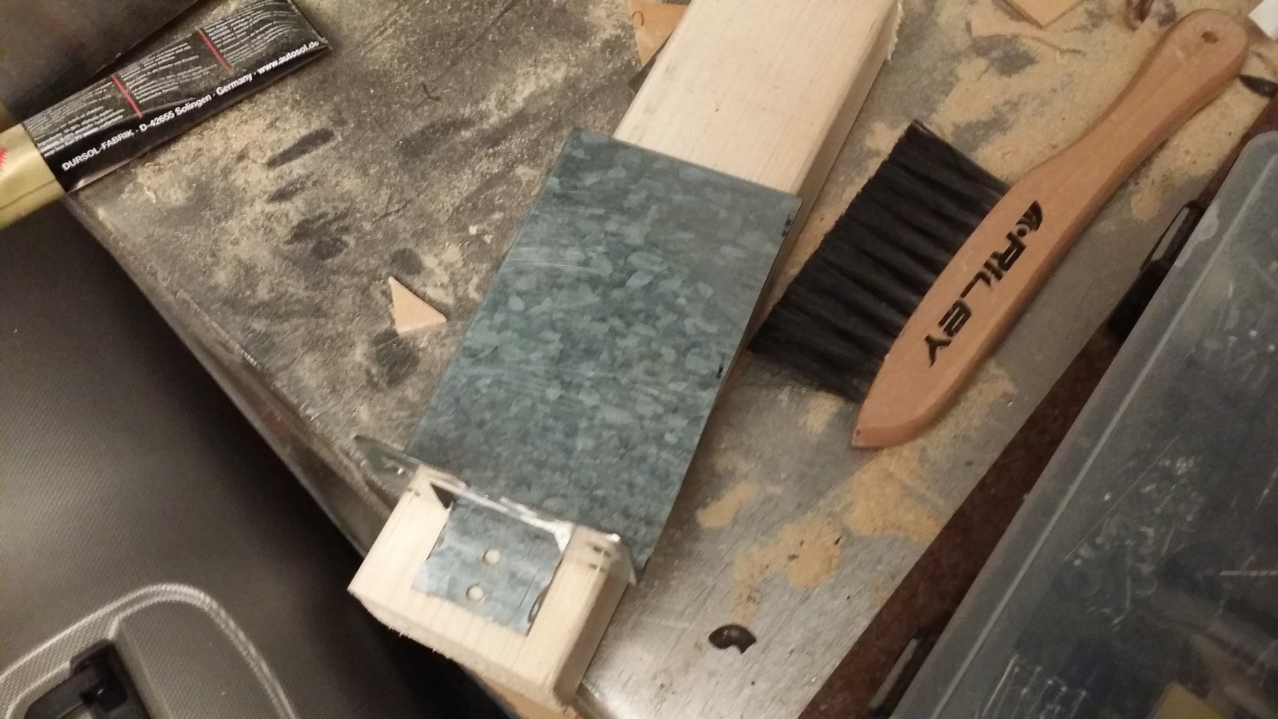 Cutting and Bending the Main Body